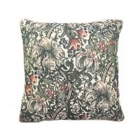William Morris New Tapestry Filled Tapestry Golden Lily Cushions